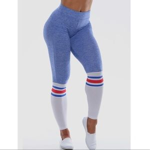 Bombshell Sportswear Sock Leggings - Medium
